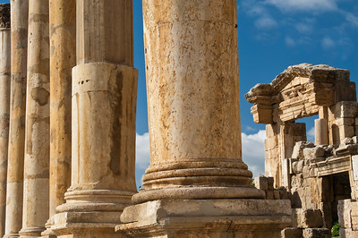 ancient columns...
