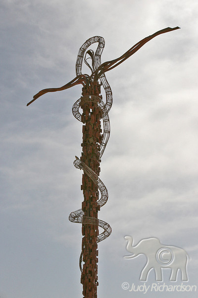 The Brazen Serpent Sculpture