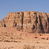 Flat top mountain used as a safe haven by the Nabateans to protect their women and children, Petra