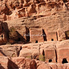 Street of Facades, Petra. These were the tombs of important Nabateans