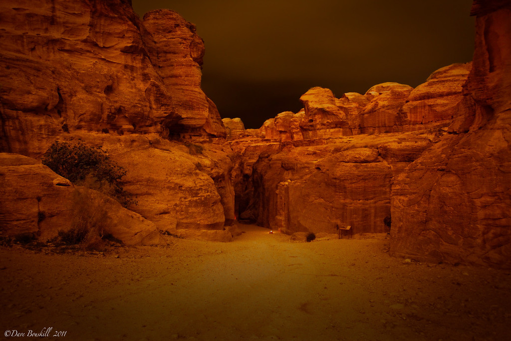 Petra-night-siq-entrance-jordan