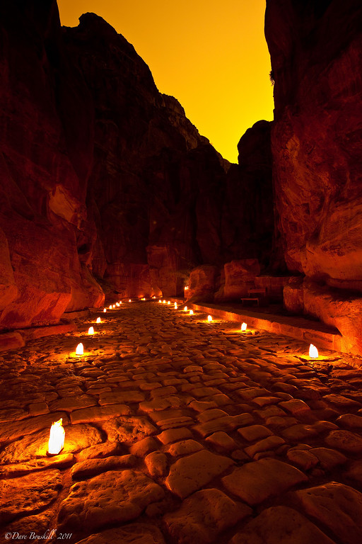 Petra-by-night-streets-jordan