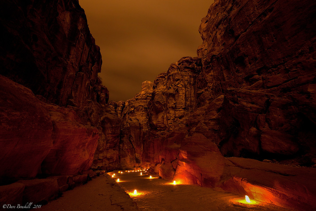 petra-by-night-pathway-jordan