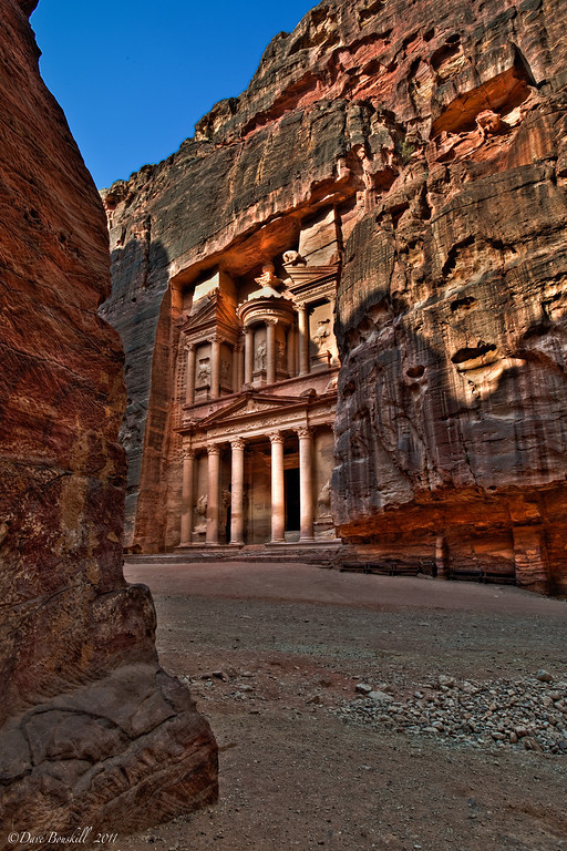 Petra by Day the Treasury