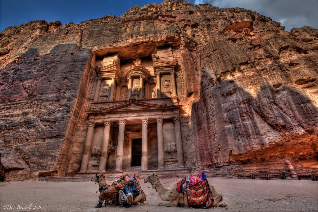 treasury-petra-camels-jordan