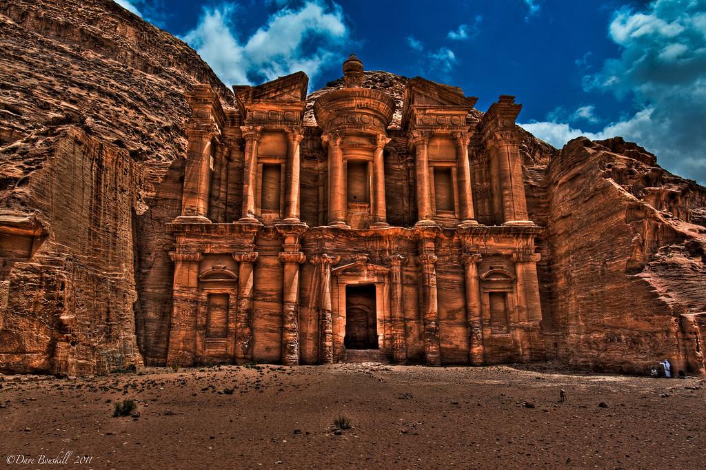 Monastery-Petra-jordan-photo