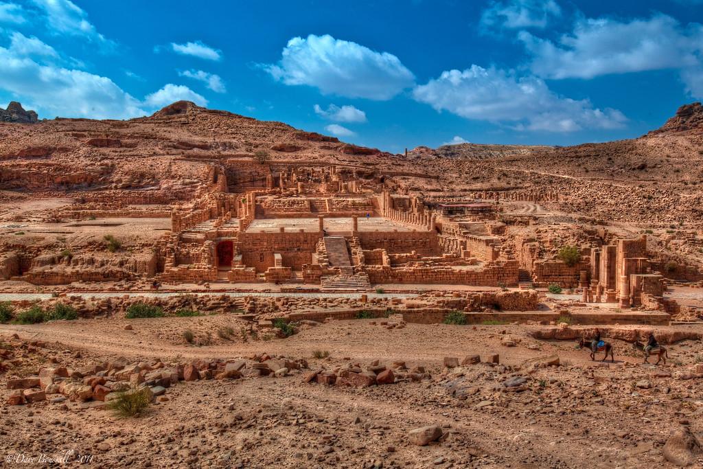 petra-ruins-jordan-lost