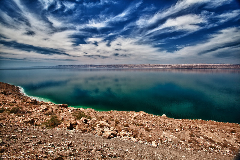 photo of the dead sea in Jordan