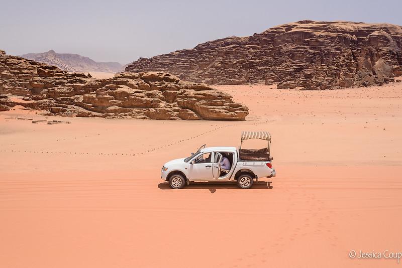 Desert Tour Vehicle