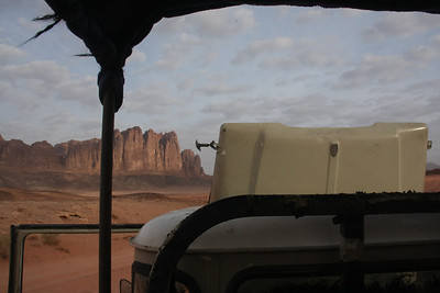broke down engine, wadi rum