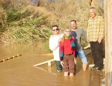 Baptism Site & Jordan River