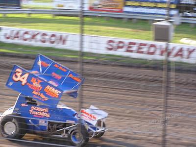 Jackson Sprint Car Races - Aug 2010