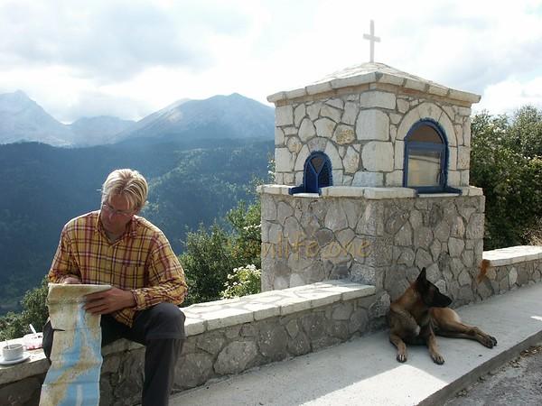 Klaas and Lex, Greece 30-09-2004