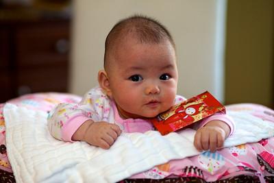 Josefine on Chinese New Year