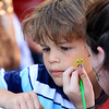 Getting his face painted is Colby Times, 7, of Tyngsboro at the Joseph Middlemiss Big Heart Foundation's 4th annual Celebrity Scoop Fest at Shaw Farm in Dracut on Wednesday, June 21, 2017. SUN/JOHN LOVE