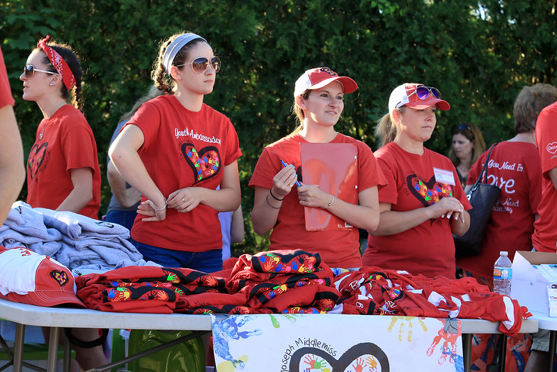 Scenes from the Joseph Middlemiss Big Heart Foundation's 4th annual Celebrity Scoop Fest at Shaw Farm in Dracut on Wednesday, June 21, 2017. SUN/JOHN LOVE