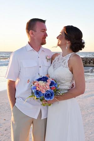 Beautiful destination wedding at Siesta Key Beach, FL