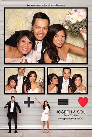 Joseph & Sou's Wedding May 7, 2016