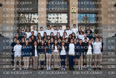 2014-10-17 Joseph Battin School 8th Grade Group Shot