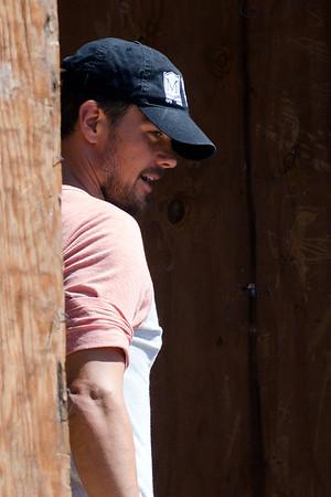 Josh Duhamel check out his house