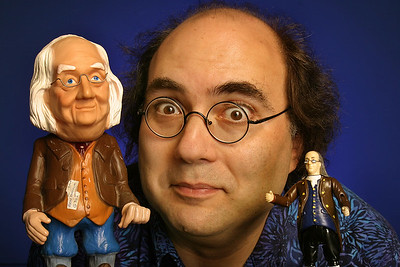 Josh Kornbluth takes on America's favorite founding father in Ben Franklin: Unplugged. Photo by Mark Leialoha.