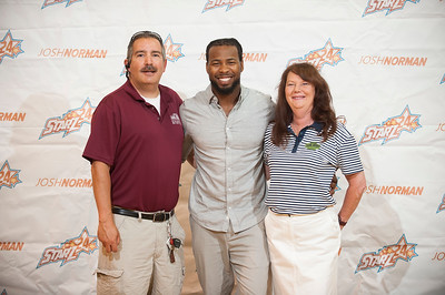 2017 STARZ24 Forum Hosted by Josh Norman @ Greenwood Highschool 4-30-17 by Jon Strayhorn
