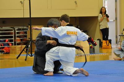 Josh Black Belt Testing