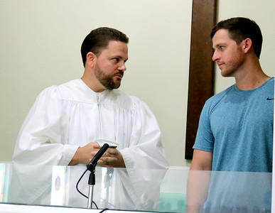 Josh Vining Baptism 9/9/18