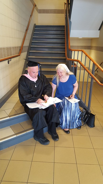 Joshua Graduation pics