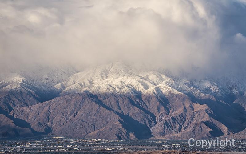 Mount San Jacinto from View View Joshua Tree