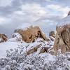 Arch Rock in Snow, Joshua Tree