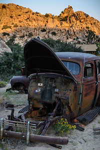 Old Cars on Key's Ranch.