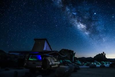Matt's camper in the foreground.