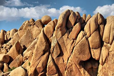 Rock formation at Jumbo Rocks area.