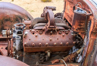 Anyone know what engine this is? Is it a Ford? The intake/exhaust pedestal does not  look like any flathead Ford motor I see in photos.