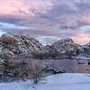Barker Dam in Snow