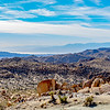 The Salton Sea from the Mastodon Peak Loop - Joshua Tree National Park