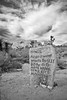 Worth Bagley grave, Joshua Tree National Park
