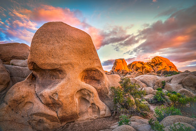 Hamlet's Skull: Skull Rock: Joshua Tree National Park Fine Art Landscape Nature Photography Prints
