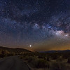 The Road to Venus and the Milky Way at Joshua Tree