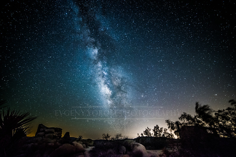 """The Galaxy Rising In The Desert"""