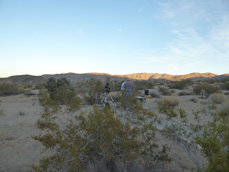 Astronomy in the high desert takes advantage of clear dark skies for stellar viewing.