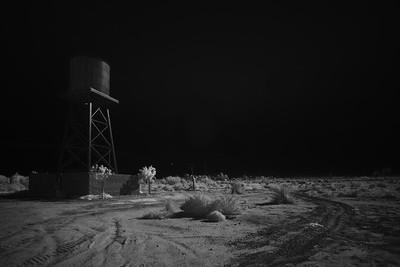 Desert water tank