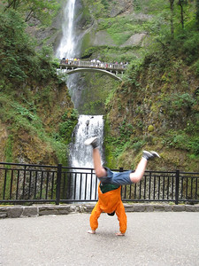 Joshua Ward - Multnomah Falls, Oregon
