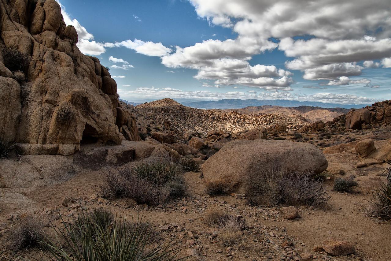 Mastodon Peak Trail, Joshua Tree National Park, California