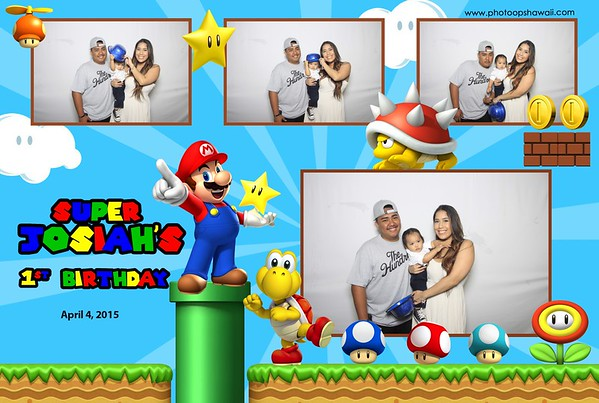 Josiah's 1st Birthday (Fusion Photo Booth)