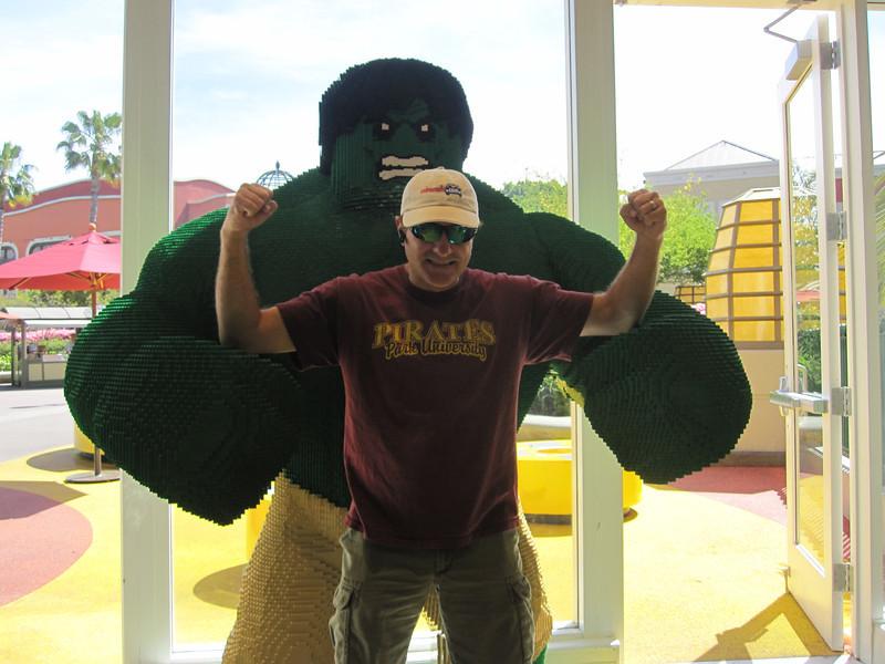 Lego Hulk Smash your insteps!