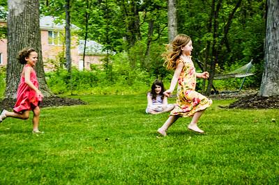 10 Years Ago  June  27, 2005 - Julia's birthday party