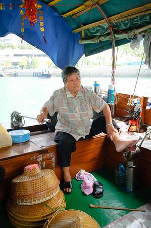 10 Years Ago  June 10, 2005 - Hong Kong Boat Captain