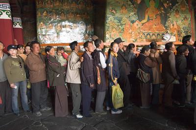 10 Years Ago  June 6, 2005-Jokhang Temple, Lhasa
